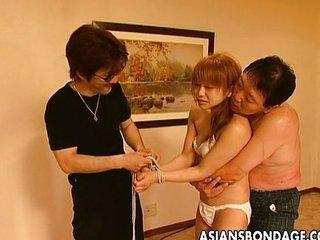 Hot Asian bondage..