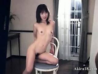 Petite 18yo girl from Japan..
