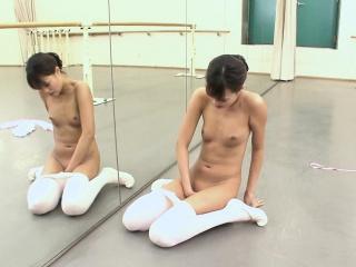 Asian ballerina has an itch..