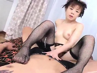 Japanese AV Model has cum..