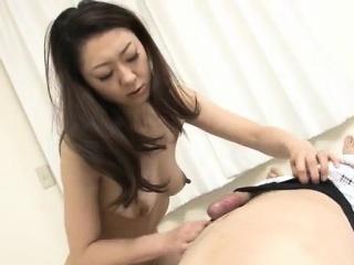 Ruri Hayami enjoys her uncle..