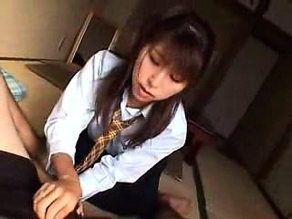 Sensuous Asian girl with a..