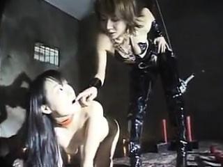 Kinky babe indulges in..