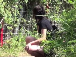 Japanese teen watched pee