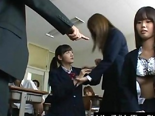 School Girls Stop Time