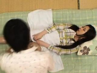 Needy oriental woman..