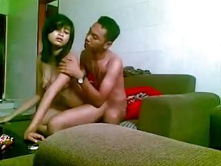 indonesian girl fucked  on..