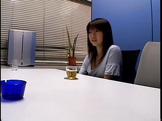 Japanese busty girl gangbanged
