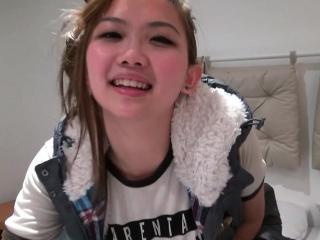 Hipster asian girl..