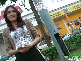 Sexy Coy Thai Girl Happy To..