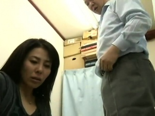 Helpless Japanese MILF was..