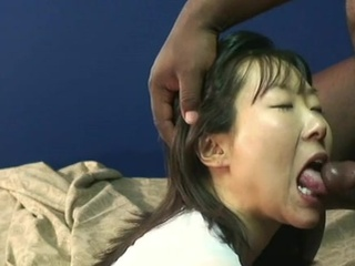 Cute Japanese mouthjobing A..
