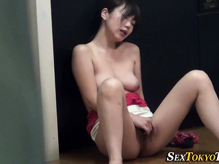 Little boobs asian fretting