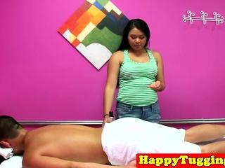 Adorable asian masseuse..