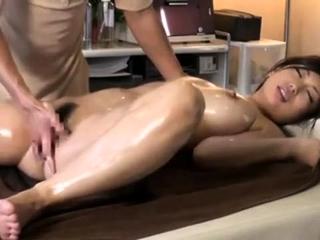 Massage with twat fingering..