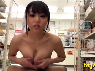 Tantalizing asian wench gets..