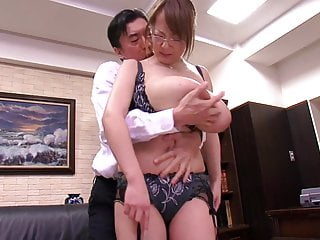 Asian with big tits..