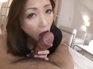 mature japanese woman give..