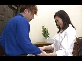 Japanese adult with the dealer