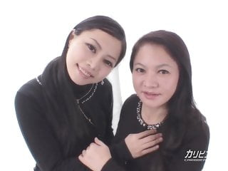 Yui Yabuki and Chiharu..