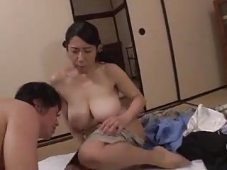 Son gets horny watching mom...
