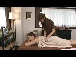 Japanese Lesbians Massage..