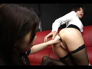 Japanese lesbian anal fisting