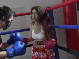 Chinese Brutal Mixed Boxing..