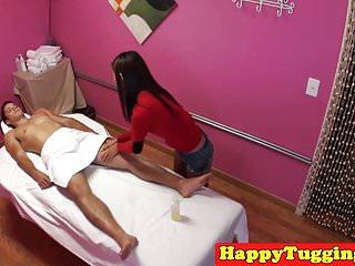 Petite asian masseuse..