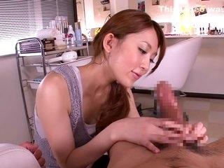 Remarkable Japanese girl Rin..