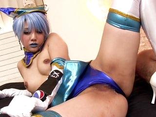 Amazing Japanese girl Rei..