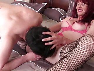 Asian Mistress Fucks Boom box