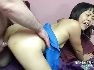 Asian housewife Yuka Ozaki..