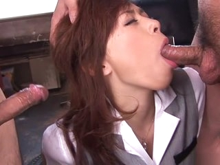 Blistering Japanese girl..