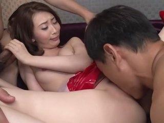 Exotic Japanese whore Aya..