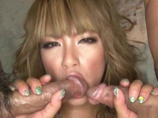 Stroke Japanese chick Rumika..