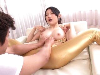 Exotic Japanese chick Azumi..