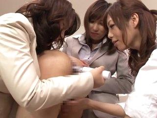 Horny Japanese sluts Hinata..