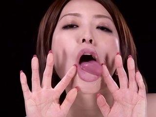 Exotic Japanese slut Ai..