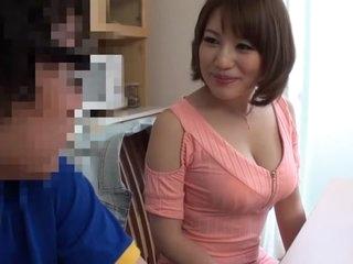 Horny Japanese chick Riko..