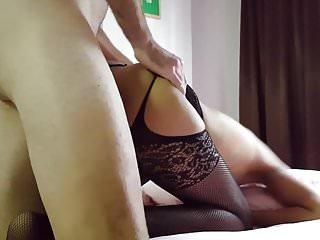 Thai slut in stockings..