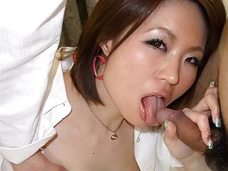 Slutty chick, Miki Uemura is..