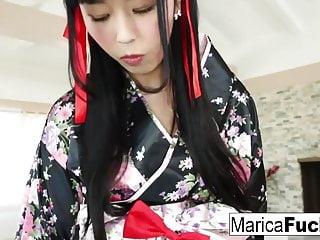 Geisha Marica takes in..