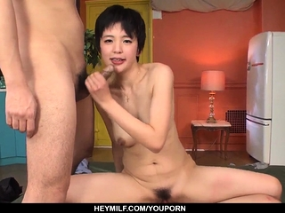 Day-dream threesome Asian..