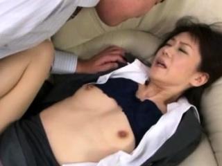 Hawt japanese elder gets her..