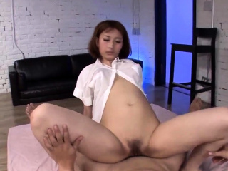 Appealing Asian schoolgirl..