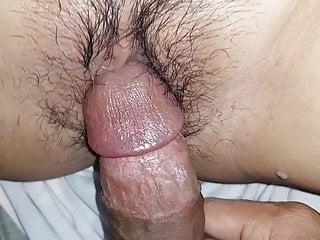 Moist flimsy pussy play