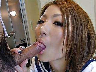 Japanese schoolgirl, Reiko..