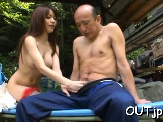 Passionate busty cutie Miki..