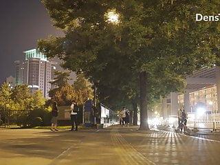 China Women Walk Nude Street..